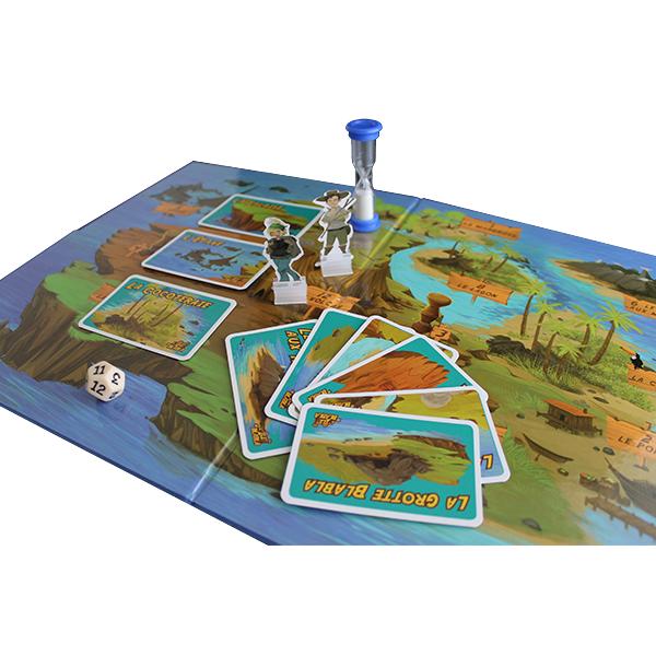 L'île de BlaBla - Évocation à contre-sens