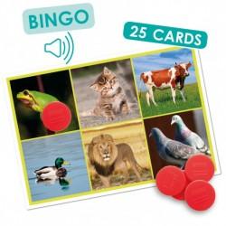Bingo sonore des animaux et de la nature