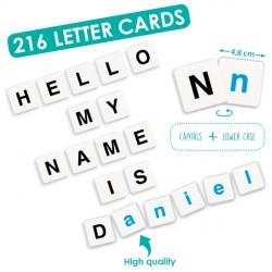 Alphabet 216 pièces
