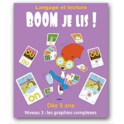 Boom je lis - Niveau 3 : les graphies complexes