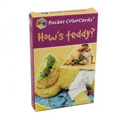 Comment va nounours ? - Pocket Colorcards