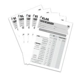 BLCR - Livret de passation CM1 (Lot de 5)