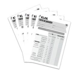 BLCR - Livret de passation CM2 (Lot de 5)