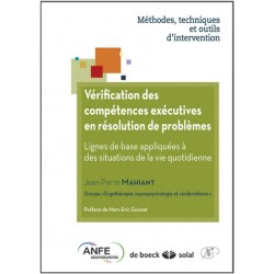 Vérification des compétences exécutives en résolution de problèmes