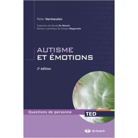 Autisme et émotions 2ème édition