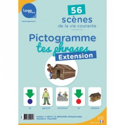 Pictogramme tes phrases Extension