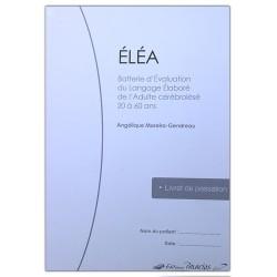 ELEA - Livret de passation (Lot de 10)