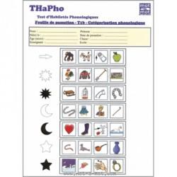 THaPho - Recharges de 25 feuilles de passation