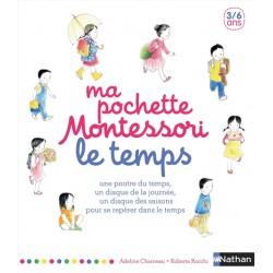 Ma pochette Montessori - Le temps - 3/6 ans
