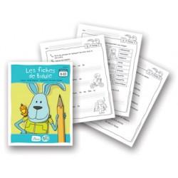 Bidule, fiches reproductibles pour livrets niveau A de 6 à 10