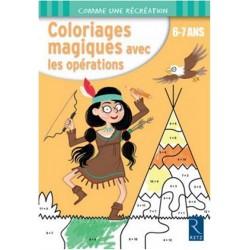 Coloriages magiques avec les opérations 6-7 ans