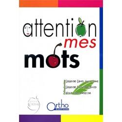 Attention mes mots (avec CD) - Occasion 28686