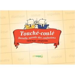 Touché-Coulé (avec CD) - Occasion 12631