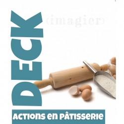 Imagier Actions en pâtisserie - Deck