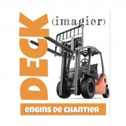 Imagier Engins de Chantier - Deck