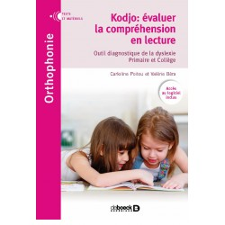 Kodjo: évaluer la compréhension en lecture