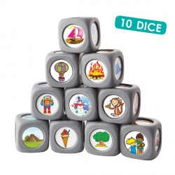 10 dés pour inventer des histoires