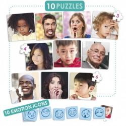 Les 10 émotions en puzzles