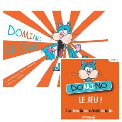 Kit Domino le Chat : Jeu + Livre