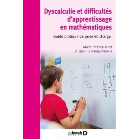 Dyscalculie et difficultés d'apprentissage en mathématiques