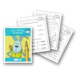 Bidule, fiches reproductibles pour livrets niveau A de 1 à 5