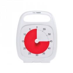 Time Timer Plus 60 min. Blanc