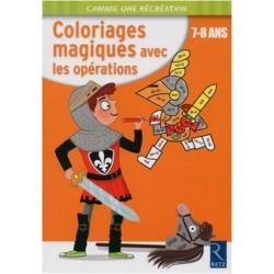 Coloriages magiques avec les opérations 7-8 ans