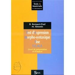 Test d'Expression Morpho-syntaxique Fine T.E.M.F.