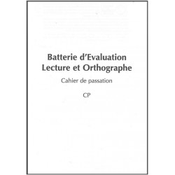BELO - Cahier de passation CP - Pack 10 cahiers