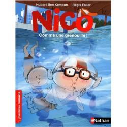 Comme une grenouille ! Nico - adapté aux enfants DYS ou dyslexiques - Dès 7 ans