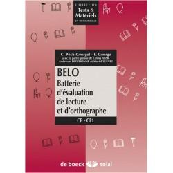 BELO: Batterie d'Evaluation de Lecture et d'Orthographe