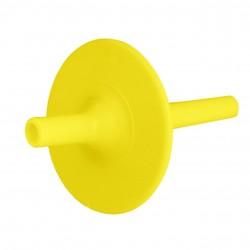 Ark embout paille long Lip Block jaune