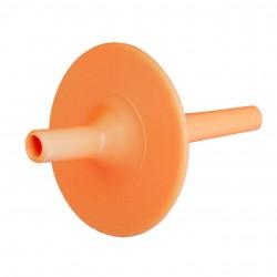 Ark embout paille long flexible Lip Block orange