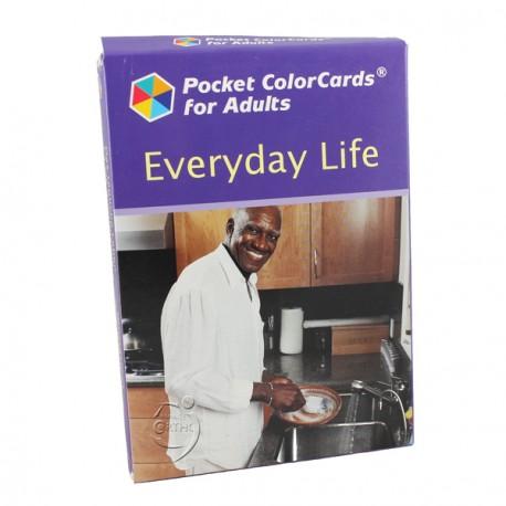La vie quotidienne - Pocket Colorcards