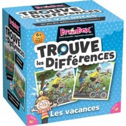 BrainBox Trouve les différences - Les vacances