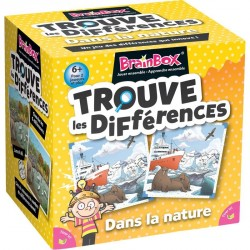Brainbox Trouve les différences - Dans la nature