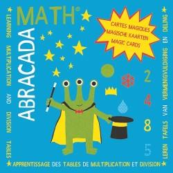 Apprentissage - Tables de multiplication et division : 2, 4, 8, 5