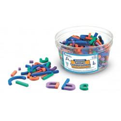 Lettres magnétiques à construire