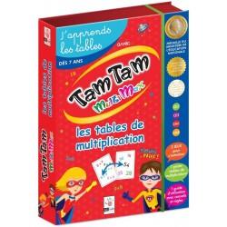 Coffret Tam Tam Multimax - Les tables de multiplication