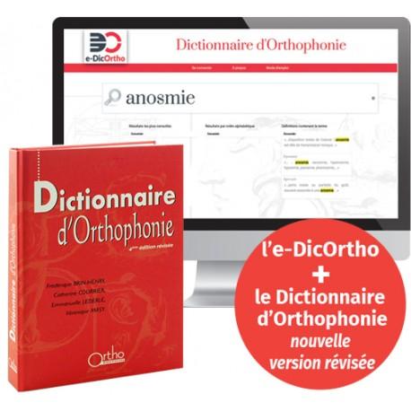 Dictionnaire d'Orthophonie + l'e-DicOrtho - 4ème Édit. - Nouvelle vers° revisée
