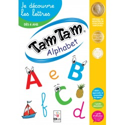 Tam Tam - Alphabet - Je découvre les lettres - Le coffret