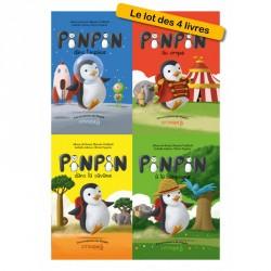 Lot des 4 livres de Pinpin