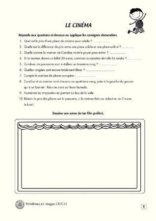 Mon cahier problèmes en images CP/CE1