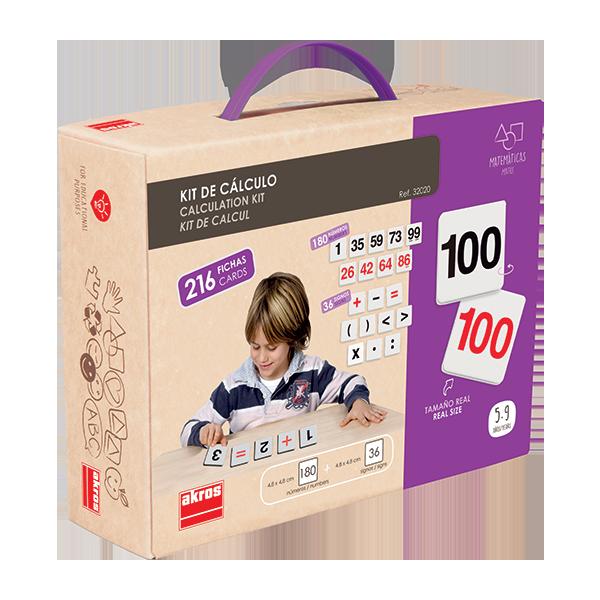 Kit de calcul 216 pièces