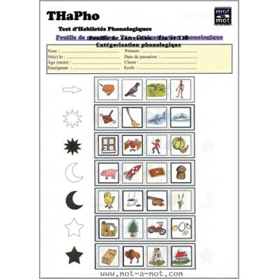 THaPho - Test d'Habiletés Phonologiques