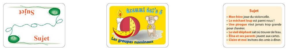 Grammi Cat's 2 - Les fonctions des groupes nominaux
