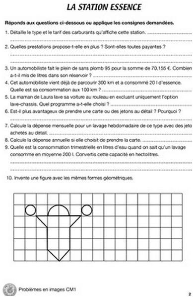 Mon cahier problèmes en images - CM1 (lot de 5)