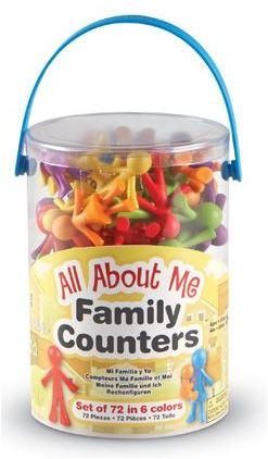 Famille à compter - 72 pièces