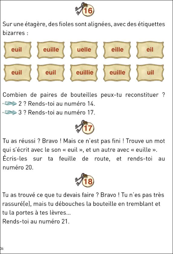 Histoires interactives orthographiques, tome 1