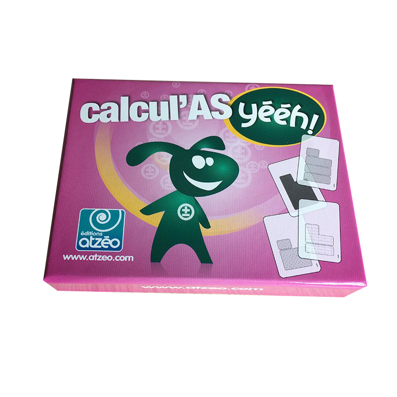 Jeu de cartes Calcul'AS Yééh !